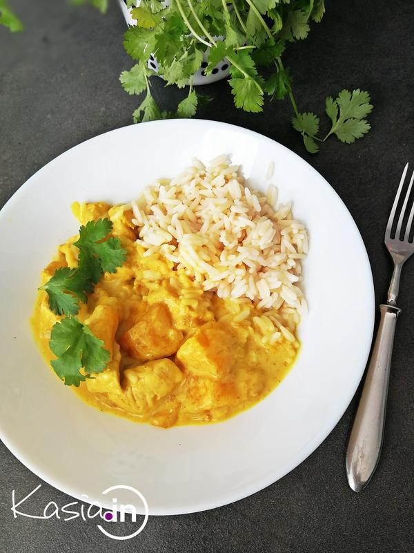 Curry Z Kurczakiem I Mango Kasia In